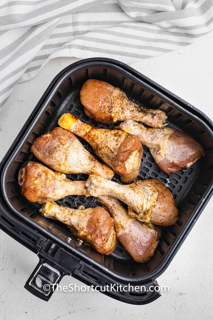 chicken in the air fryer to make Air Fryer Drumsticks
