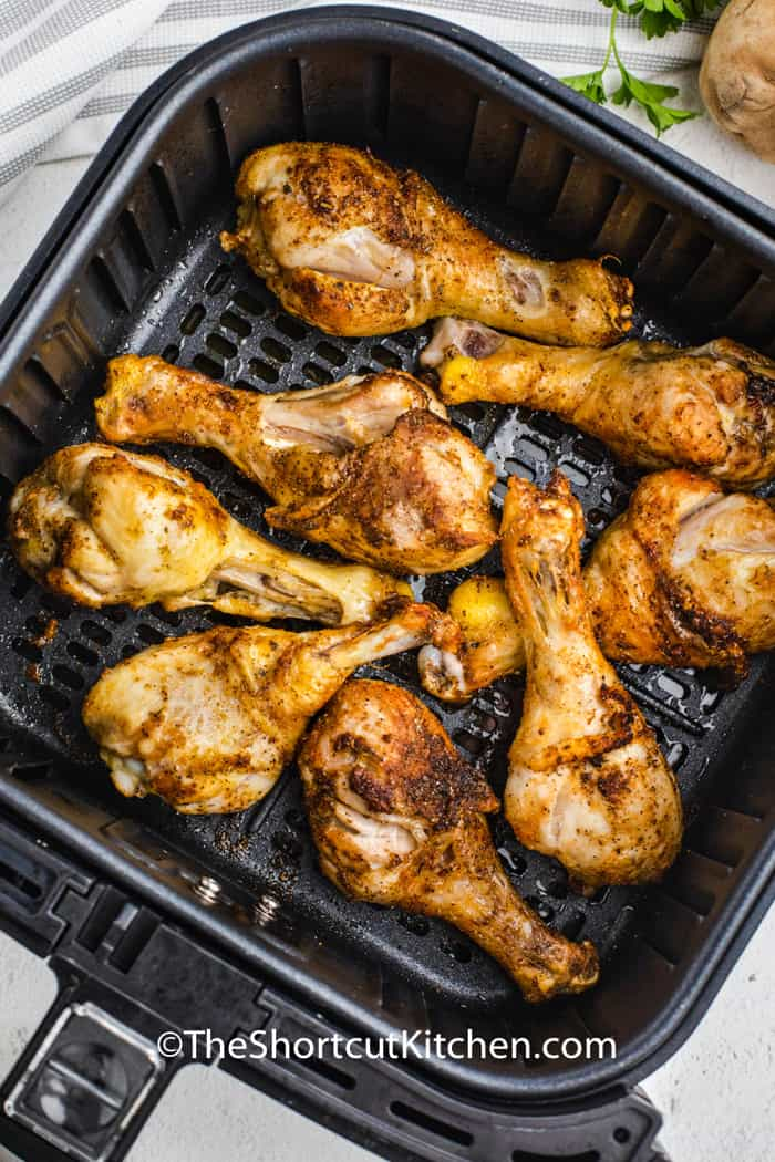 cooked Air Fryer Drumsticks