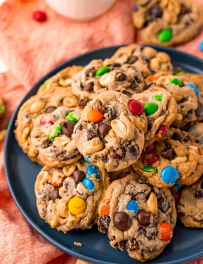 plated Trail Mix Cookies