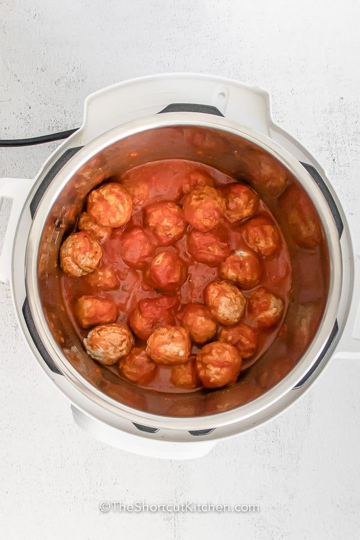 meatballs in an instant pot
